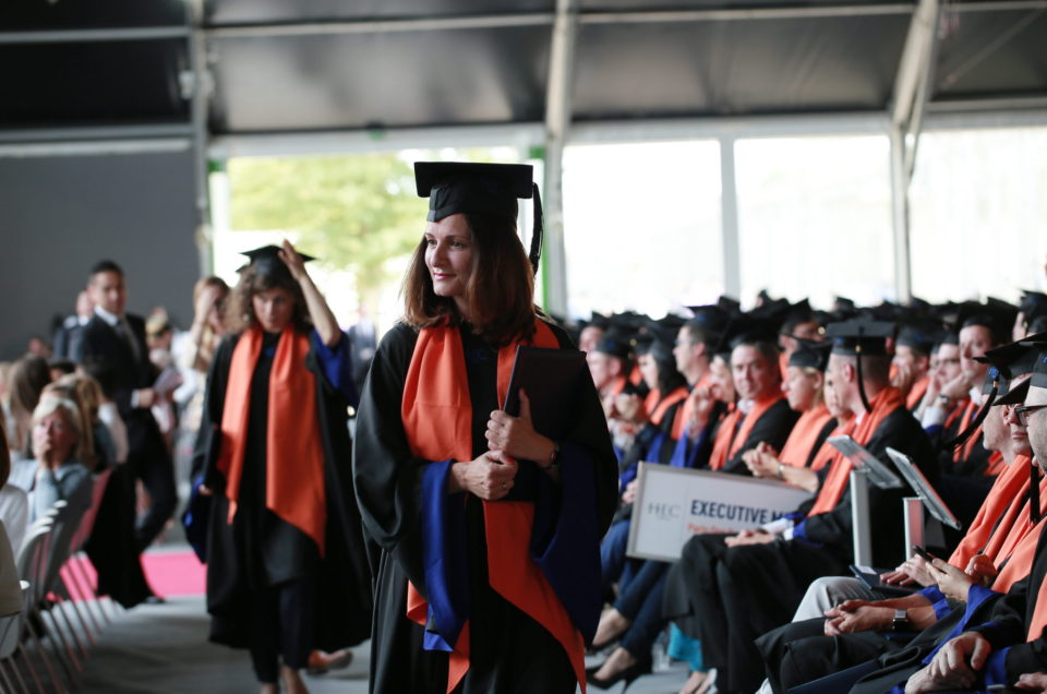 Cérémonie de remise des diplômes HEC Paris