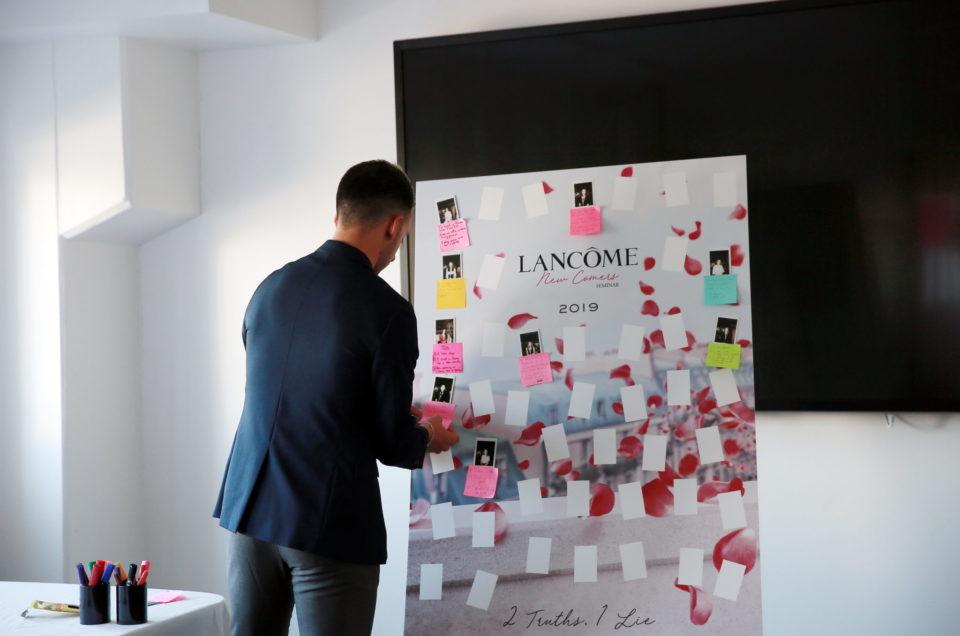 Séminaire Lancôme Newcomers Paris 2019